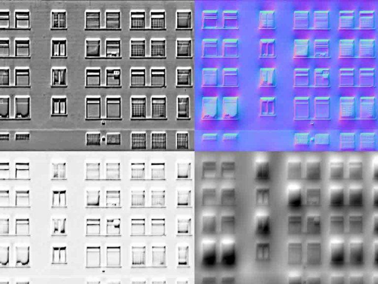 Creación de las cuatro Texturas para crear volumen en nuestros diseños