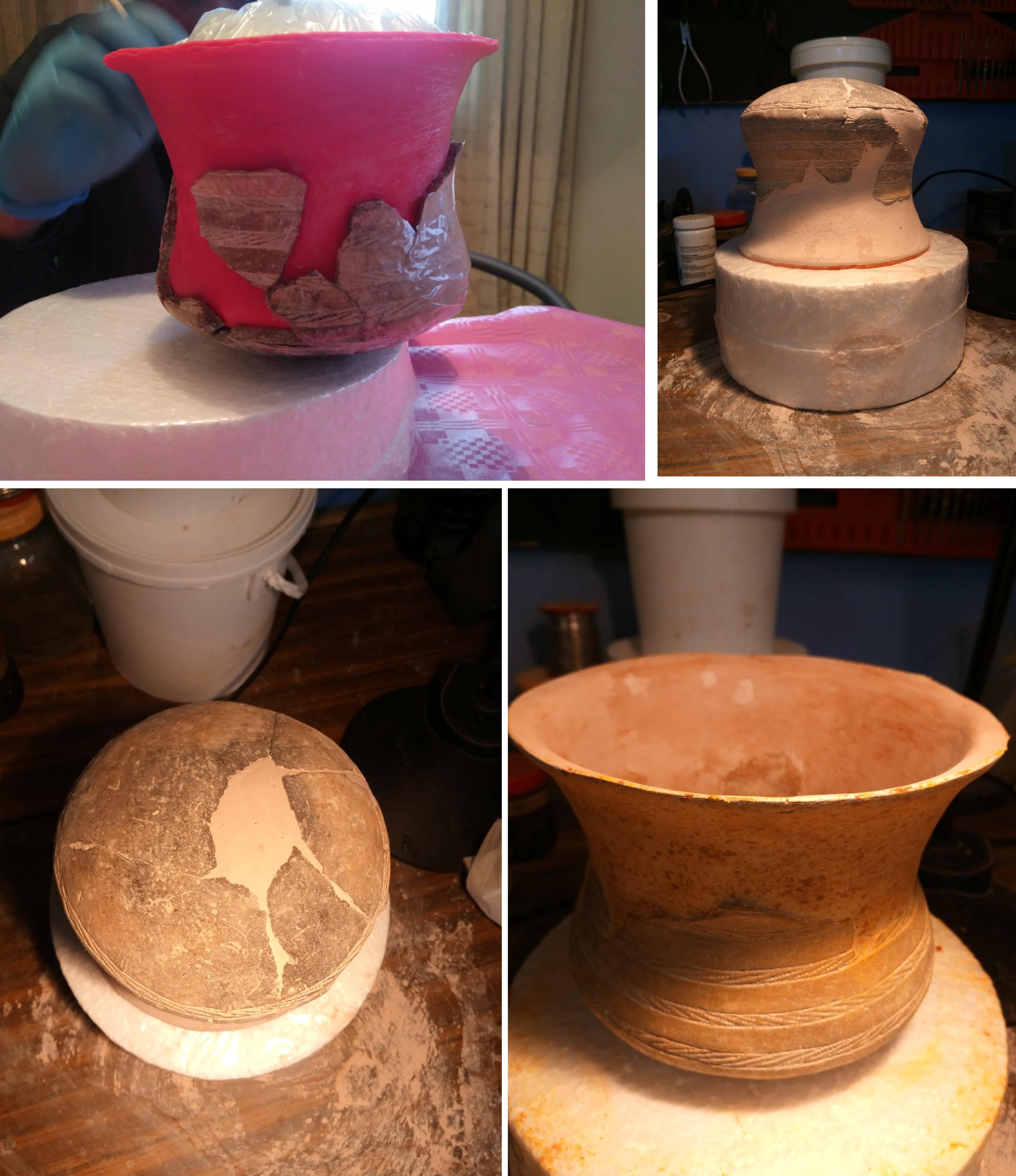 restauración materiales arqueologicos