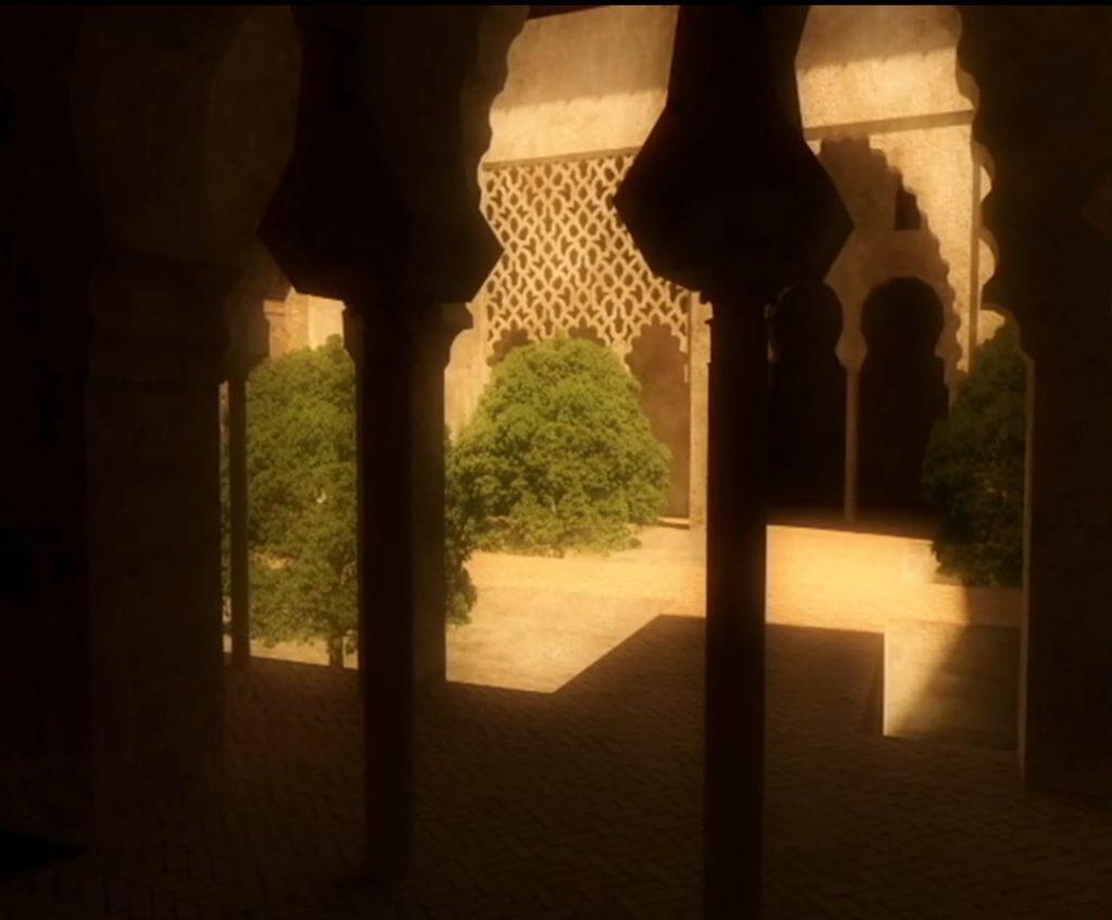 Reconstrucción audiovisual de palacio mozarabe