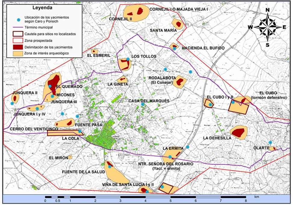 documentación gráfica en arqueología: Cartografia